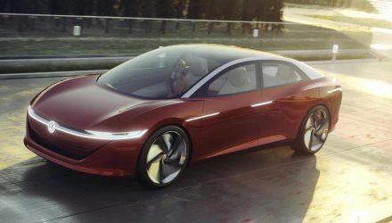 Volkswagen I.D. Vizzion concept unveiled at Geneva show