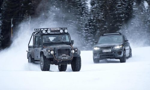 Jaguar Land Rover partners up with 007 ELEMENTS experience in Austria