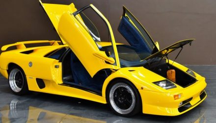 For Sale: Rare 1999 Lamborghini Diablo SV