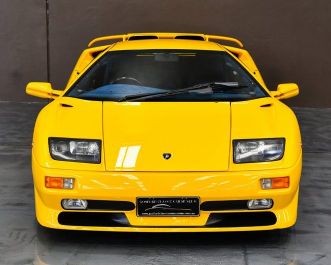 For Sale Rare 1999 Lamborghini Diablo Sv Performancedrive