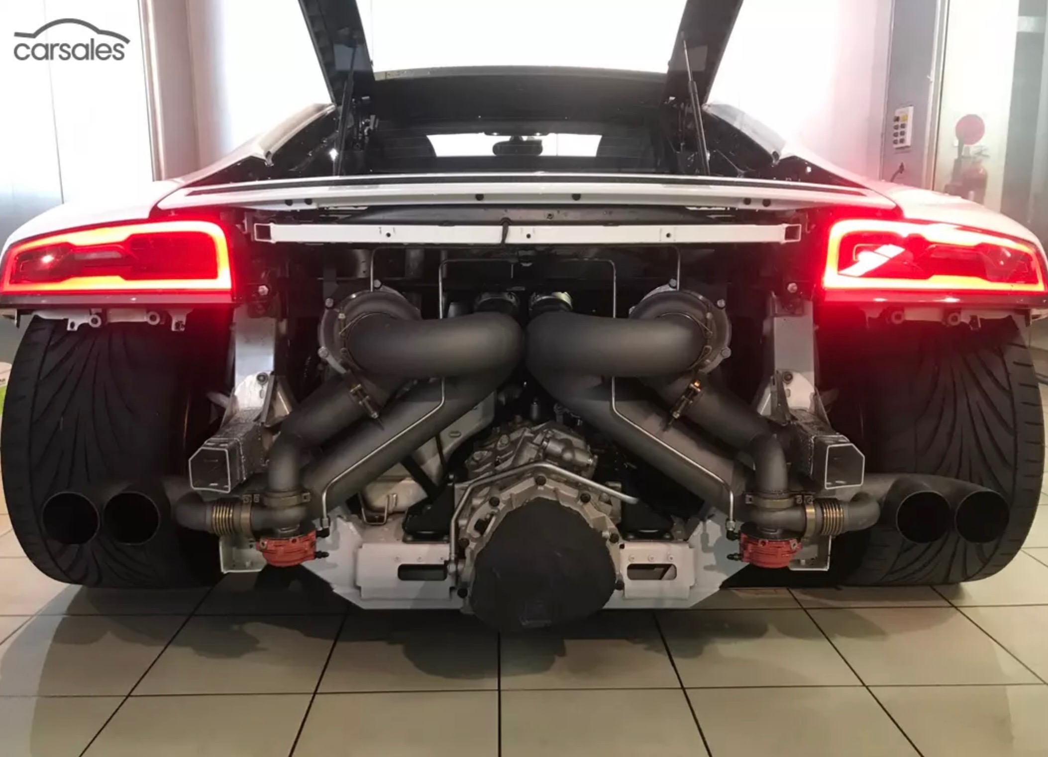For Sale 2012 Audi R8 With 600kw Twin Turbo Conversion