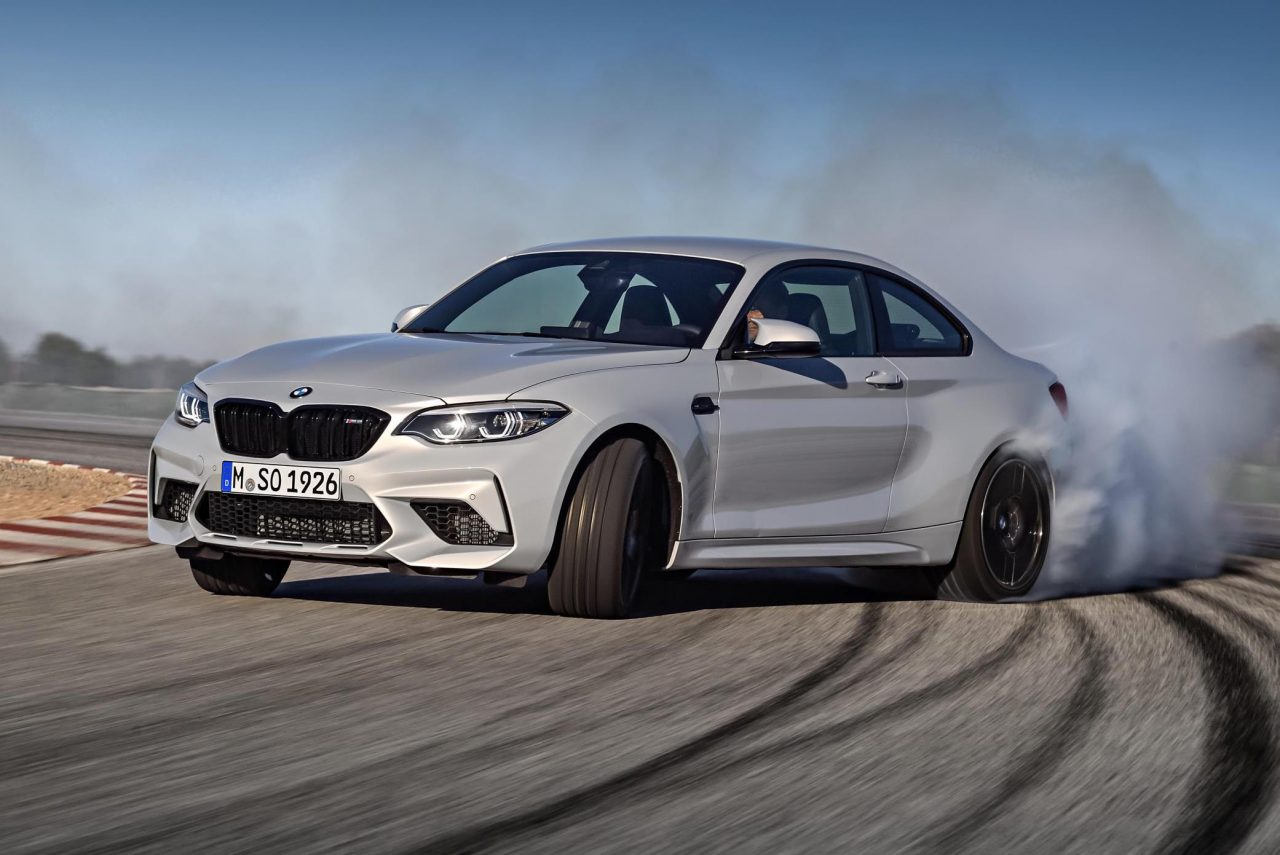 bmw m2 competition revealed gets s55 m3 m4 twin turbo engine performancedrive. Black Bedroom Furniture Sets. Home Design Ideas