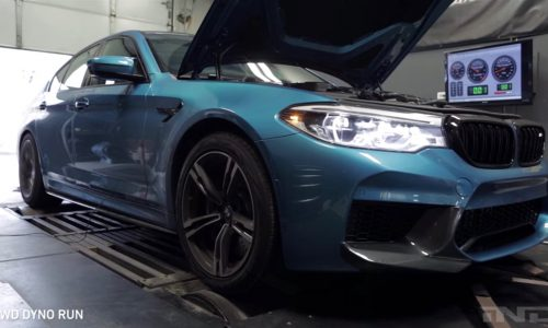 2018 BMW M5 produces whopping 466kW at the wheels on dyno (video)