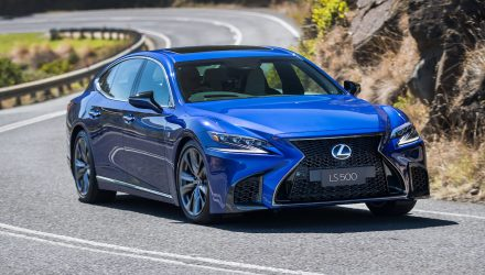 2018 Lexus LS 500 twin-turbo & LS 500h now on sale in Australia