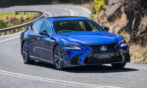 2018 Lexus LS 500 twin-turbo & LS 500h now on sale in Australia