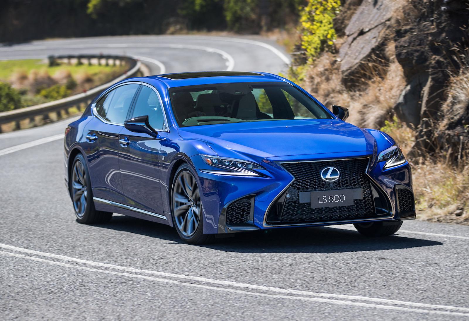 Lexus Luxury Interior >> 2018 Lexus LS 500 twin-turbo & LS 500h now on sale in Australia | PerformanceDrive