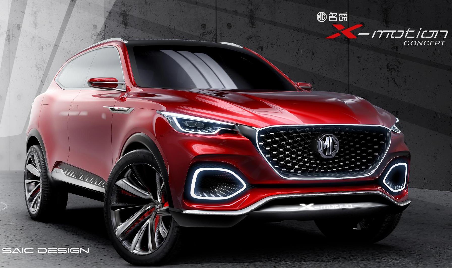 Elegant Mg X Motion Concept Previews New Flagship Suv