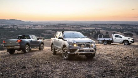 Facelifted 2018 Mazda BT-50 revealed, on sale in Australia in May