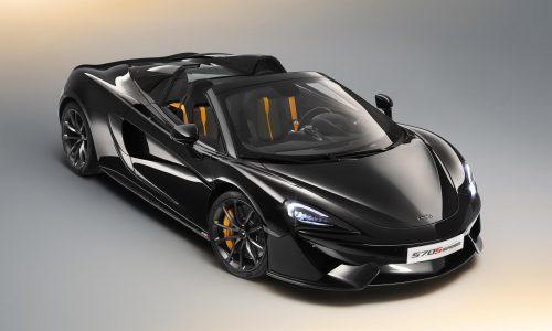 McLaren announces exclusive 570S Spider Design Editions