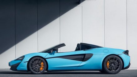 McLaren announces Track Pack for 570S Spider