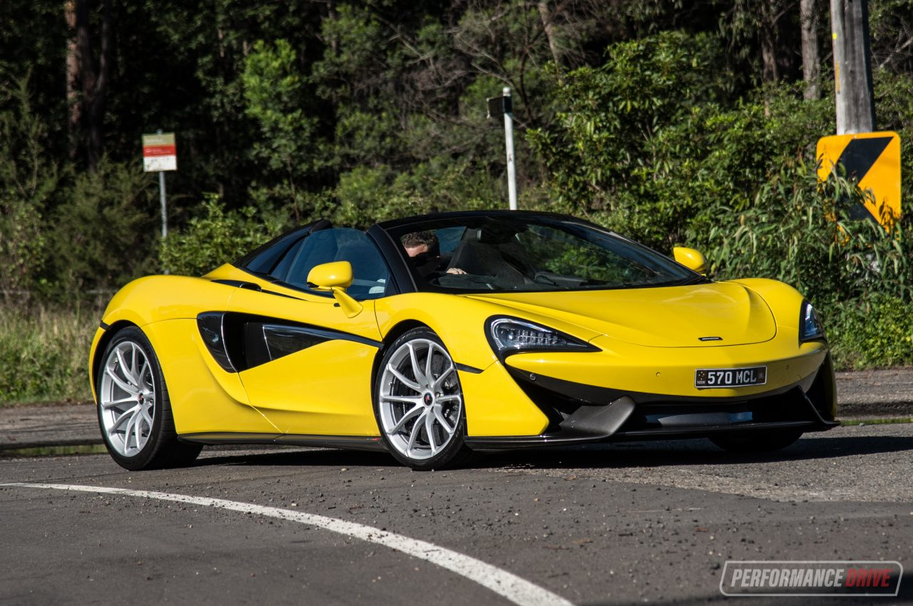 McLaren 570S Spider review (video) | PerformanceDrive