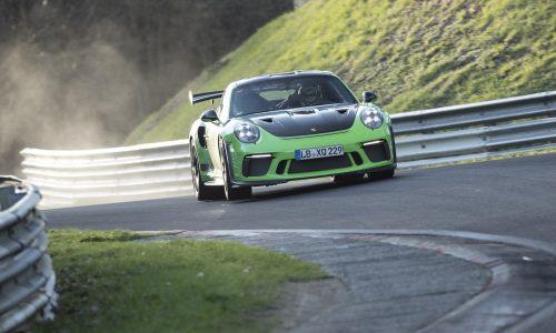 2018 Porsche 911 GT3 RS laps Nurburgring in 6:56.4 (video)