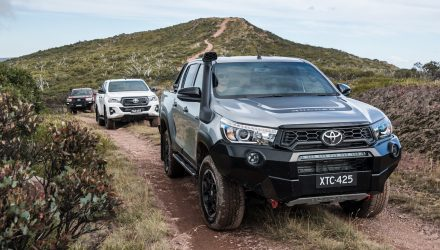 2018 Toyota HiLux Rogue, Rugged, Rugged X prices announced