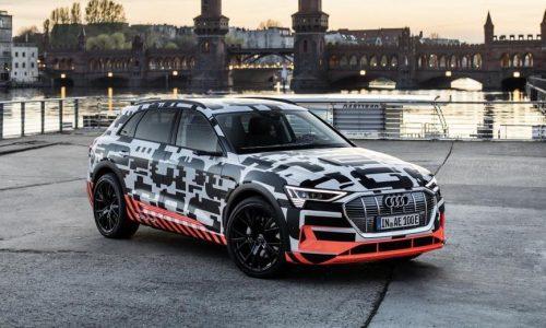 Audi e-tron quattro to offer multiple recharging options