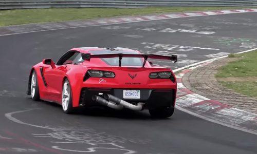 Video: 2019 Chevrolet Corvette ZR1 hunting Nurburgring record?