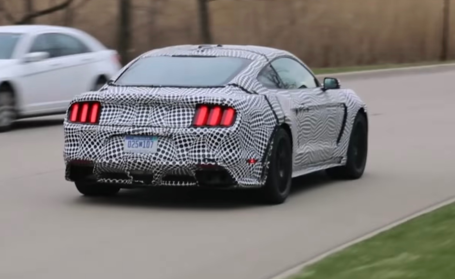 2019 ford mustang gt500 prototype rear