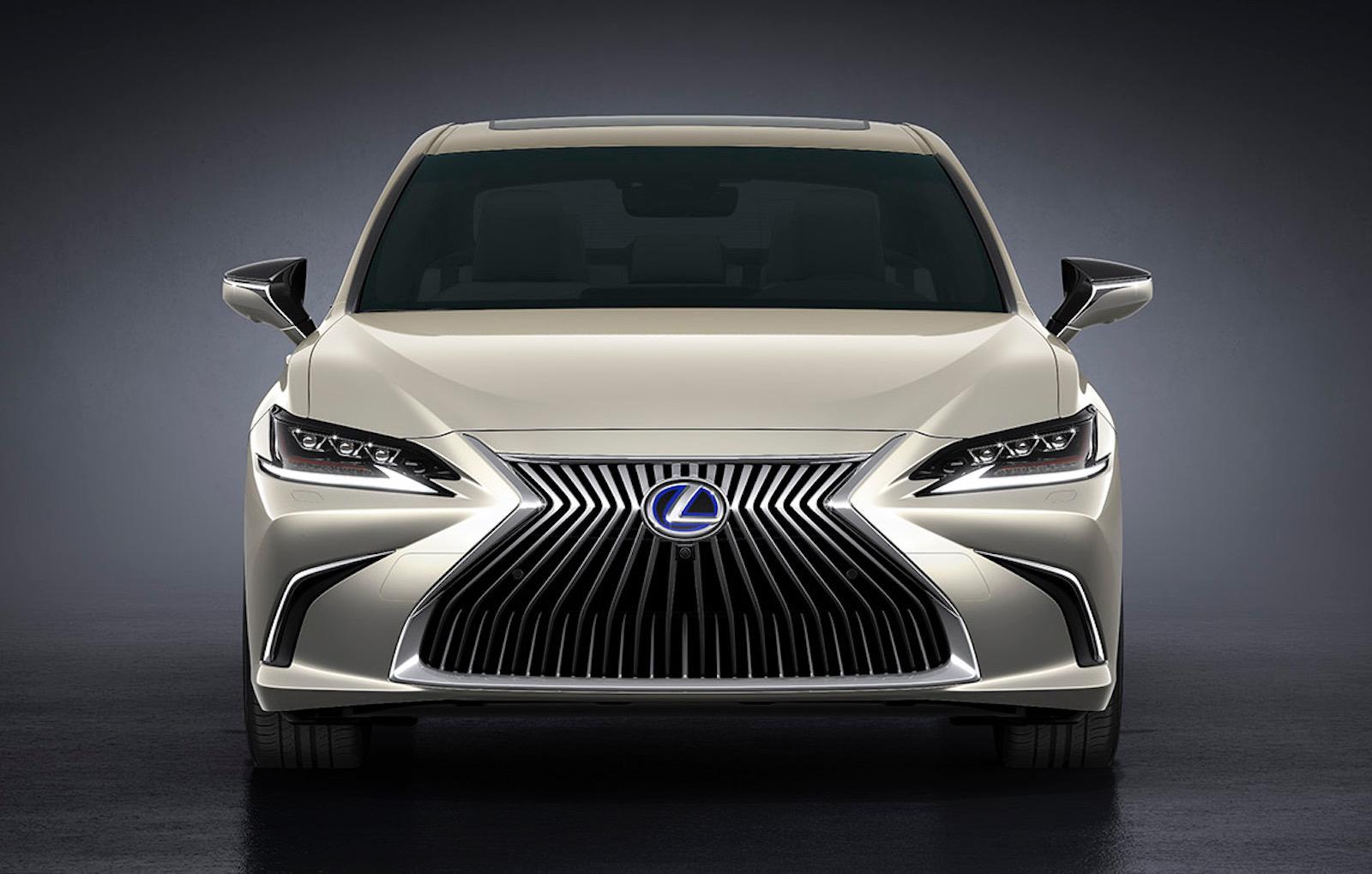 2019 lexus es revealed  hybrid es 300h confirmed for