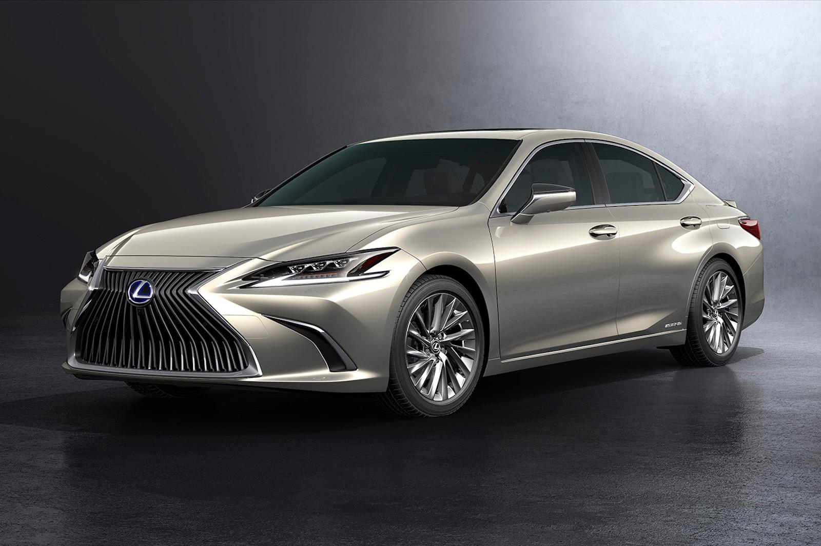 All Toyota Vehicles >> 2019 Lexus ES revealed, hybrid ES 300h confirmed for Australia | PerformanceDrive