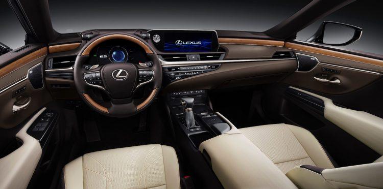 lexus es 300h hybrid interior confirmed revealed australia performancedrive