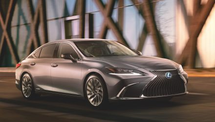 2019 Lexus ES revealed, to adopt Camry TNGA platform