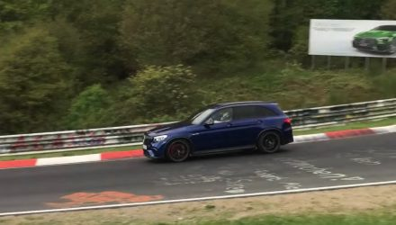 Mercedes-AMG GLC 63 hunting Nurburgring record? (Video)
