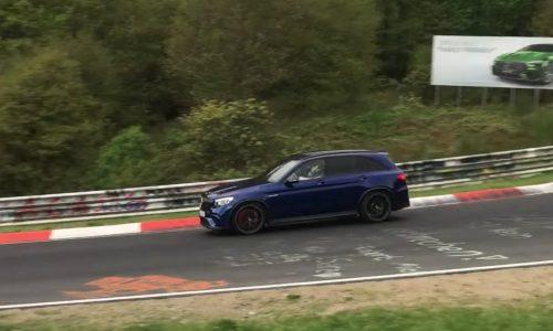 Mercedes-AMG GLC 63 hunting Nurburgring record? (Video)