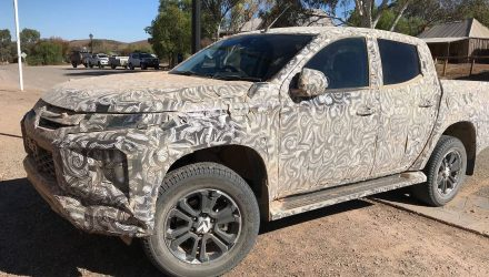 2019 Mitsubishi Triton prototype spotted in South Australia