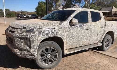 2019 Mitsubishi Triton prototype spotted in South Australia