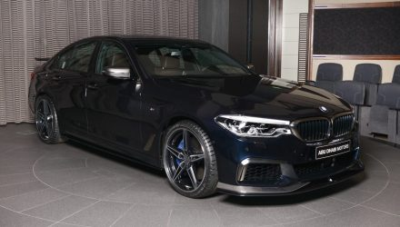BMW Abu Dhabi shows off AC Schnitzer M550i upgrades