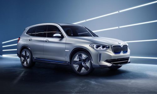 BMW iX3 concept unveiled, previews all-electric SUV for 2020