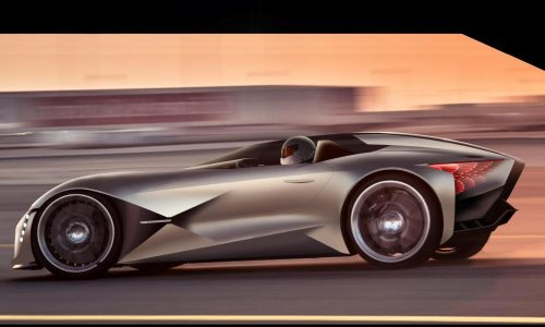 DS X E-Tense concept envisions dramatic supercar of 2035