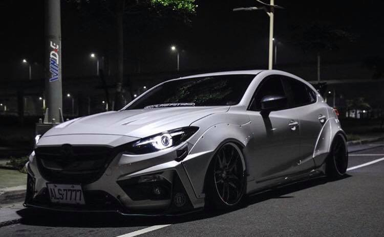 Mazda3 Given Crazy Widebody Treatment By Jgtc