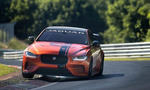 Jaguar XE SV Project 8 tuning continues, new Nurburgring record?