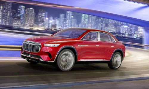 Vision Mercedes-Maybach Ultimate Luxury officially revealed