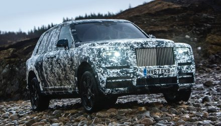 Rolls-Royce Cullinan development to be broadcast by National Geographic