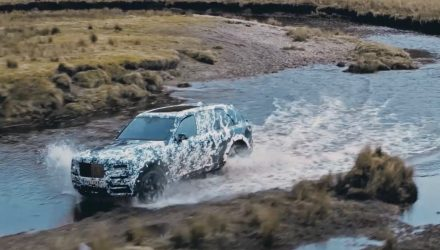 Rolls-Royce Cullinan shows off its all-terrain capability (video)