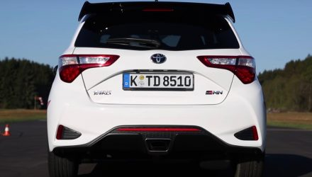 Video: Toyota Yaris GRMN 0-160km/h & engine sound