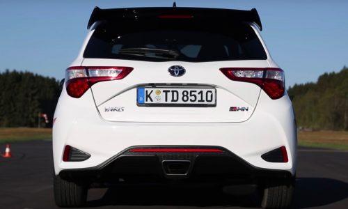 Video: Toyota Yaris GRMN 0-160km/h & engine sound