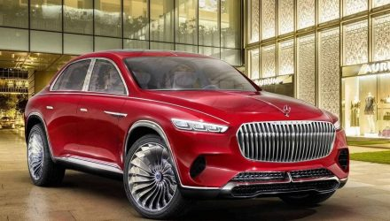 Vision Mercedes-Maybach Ultimate Luxury previews new SUV