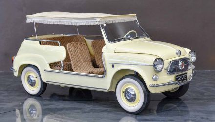 For Sale: 1959 Fiat 600 Jolly by Ghia, located in Australia
