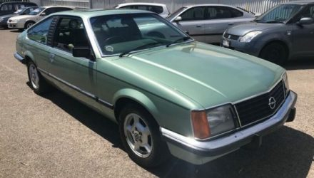 For Sale: 1981 Opel Monza (VC Commodore coupe)
