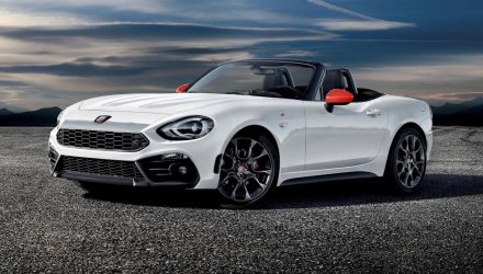 Abarth 124 Spider Monza edition announced for Australia