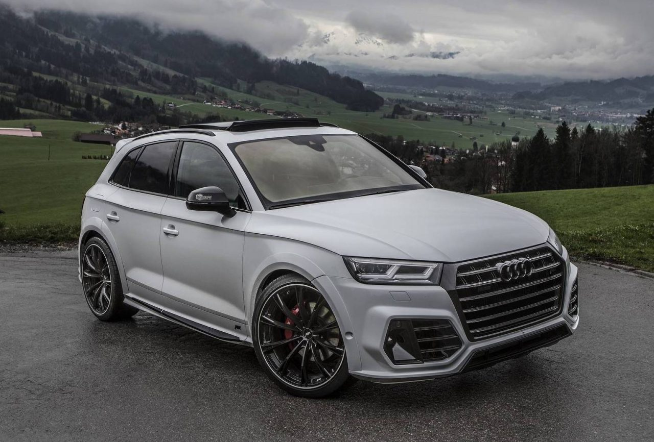 Abt Gives The New Audi Sq5 A Neat Makeover Performancedrive