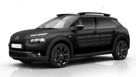 Citroen C4 Cactus One-Tone Black edition on sale in Australia