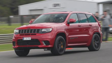2018 Jeep Grand Cherokee Trackhawk review – Australian launch (video)