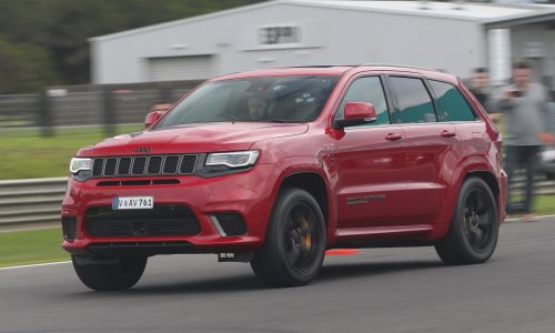2018 Jeep Grand Cherokee Trackhawk review – Australian launch (video)