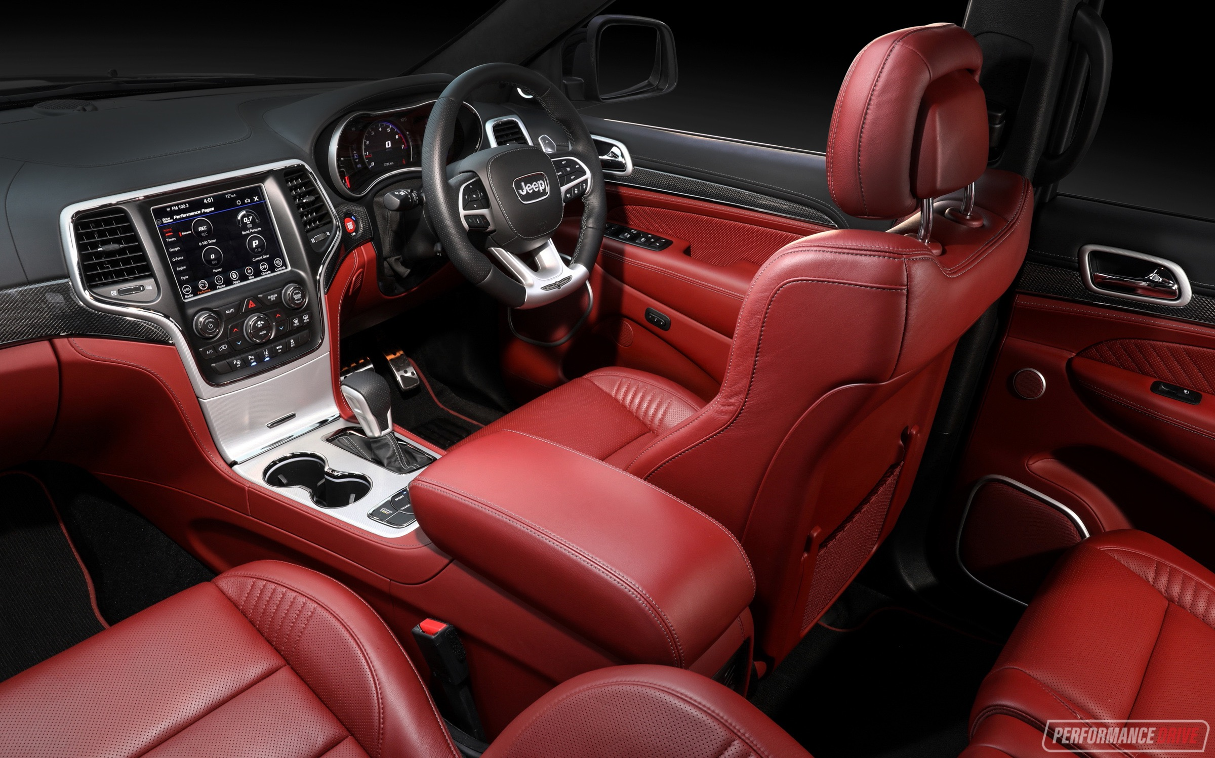 jeep cherokee grand trackhawk interior launch australian suv drive nz power performancedrive powerful know things most come