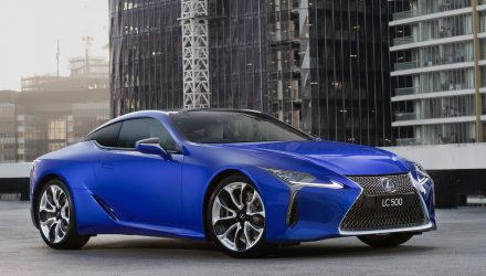 Lexus LC Limited Edition adds intense Morphic Blue