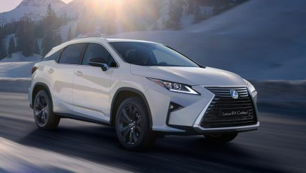 Lexus RX 'Crafted' special edition announced for Australia