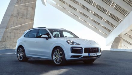 2018 Porsche Cayenne E-Hybrid plug-in on sale in Australia from $135,600